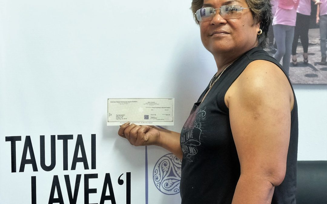 Survivor Story: Tina Sevaaetasi