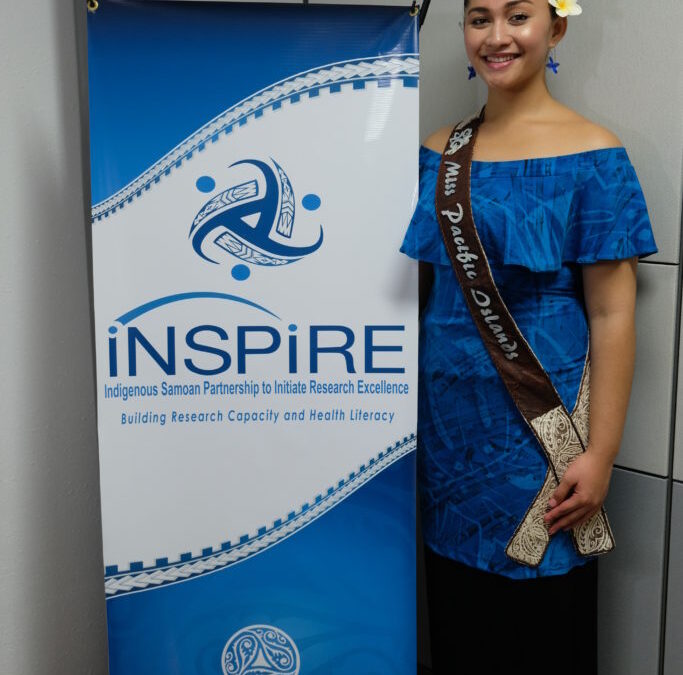 INSPIRE's 31 days of Wearing Blue Campaign starts with Miss Pacific Islands